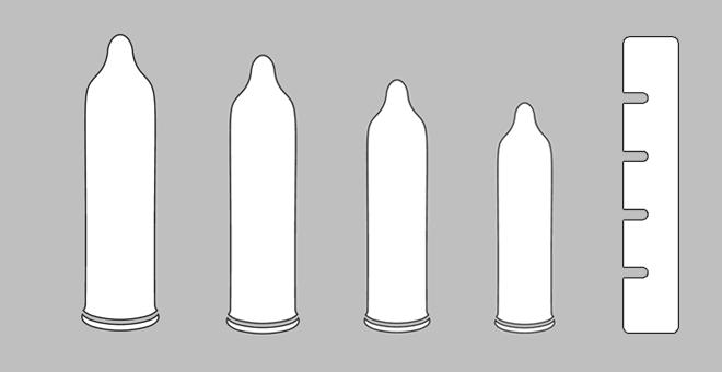 Kleine Kondome für kleinen Penis